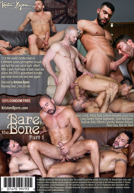 Bare to the Bone Part 1 DVD - Back