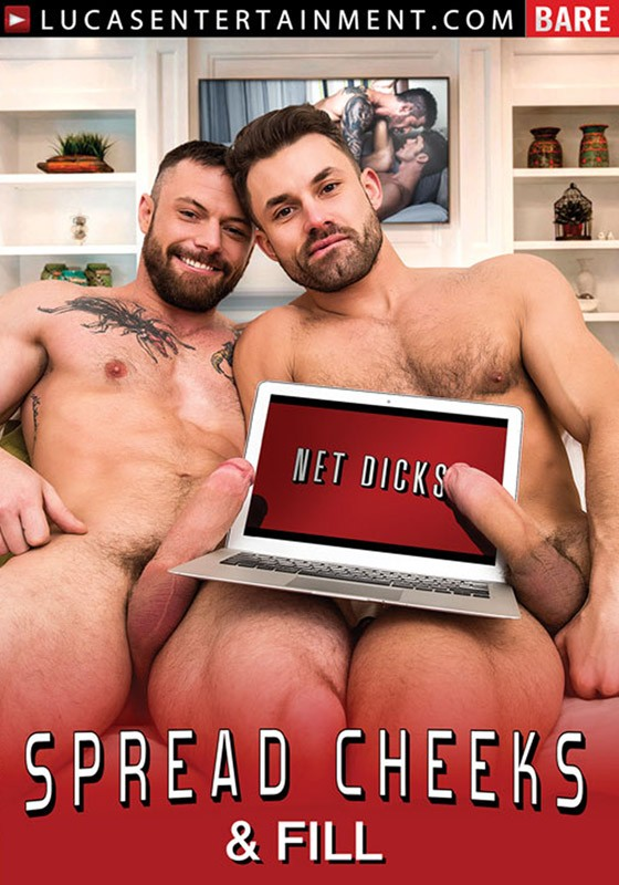 Spread Cheeks & Fill DVD - Front