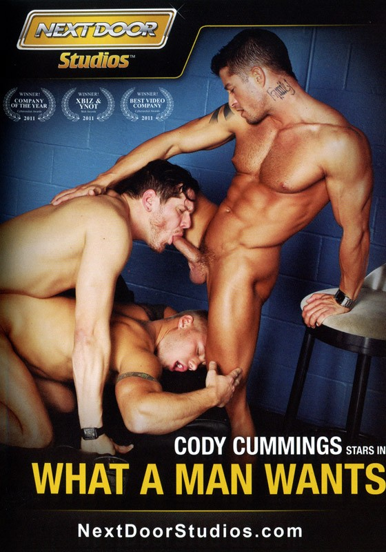 What A Man Wants DVD - Front