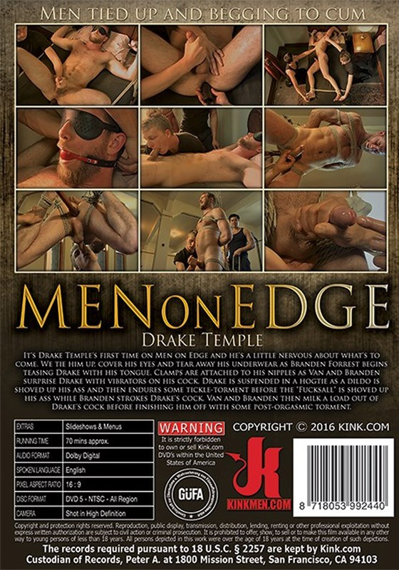 Men on Edge 50 DVD (S) - Back