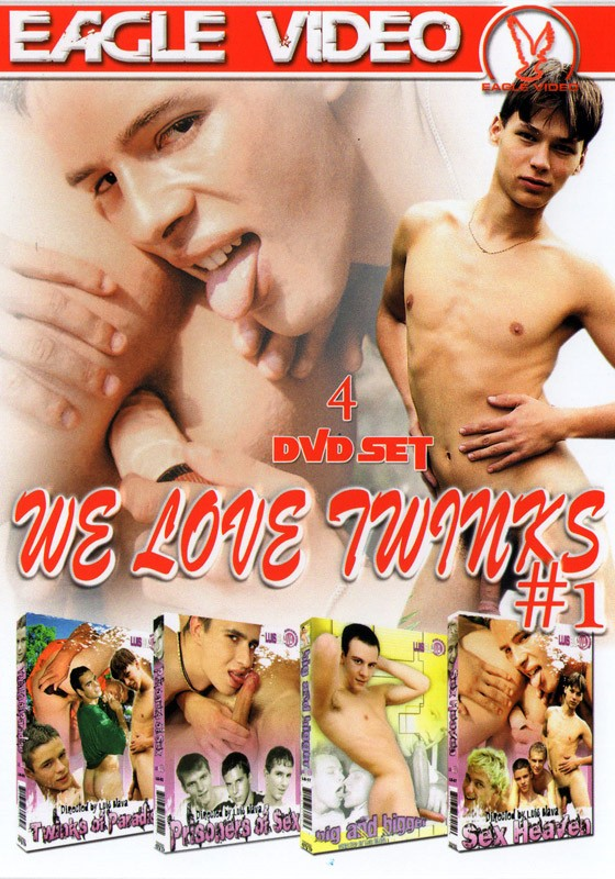 We Love Twinks #1 DVD - Front