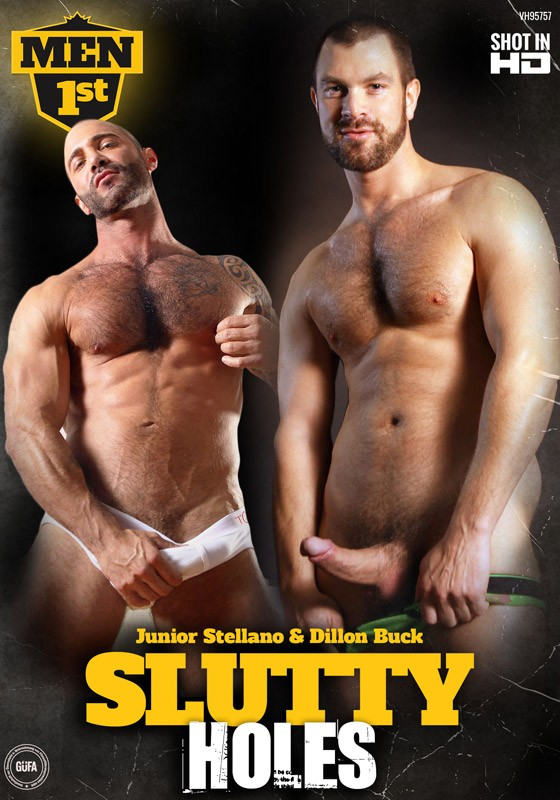 Slutty Holes DVD - Front