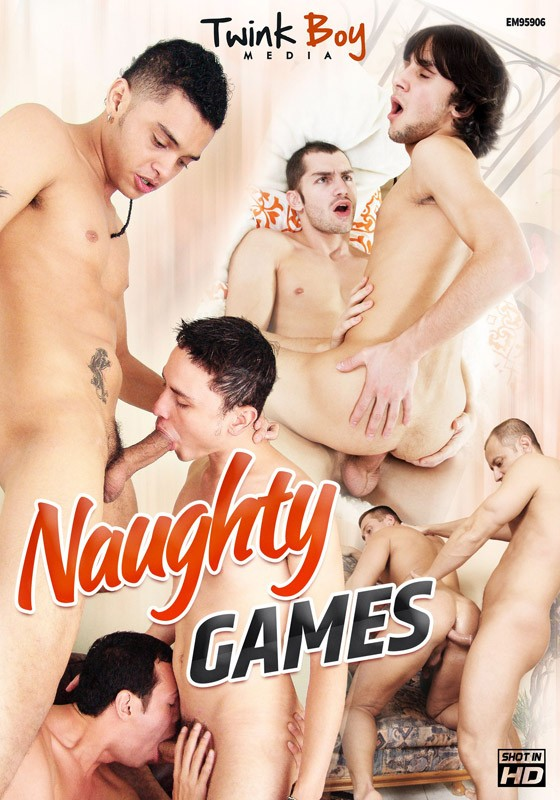 Naughty Games (TB) DVD - Front