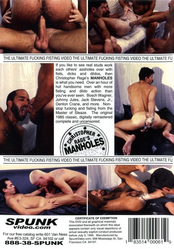 Manholes DVD - Back