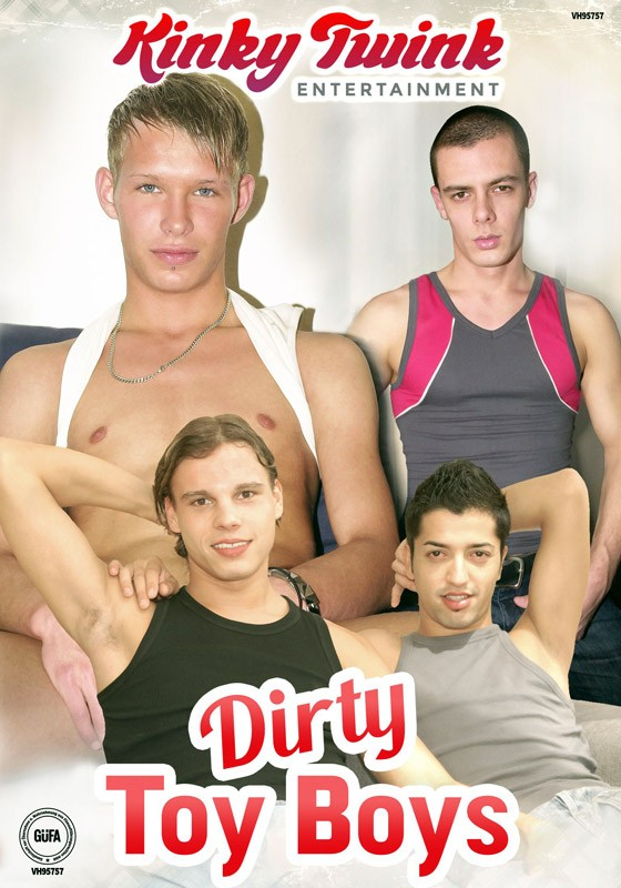 Dirty Toy Boys DVD - Front