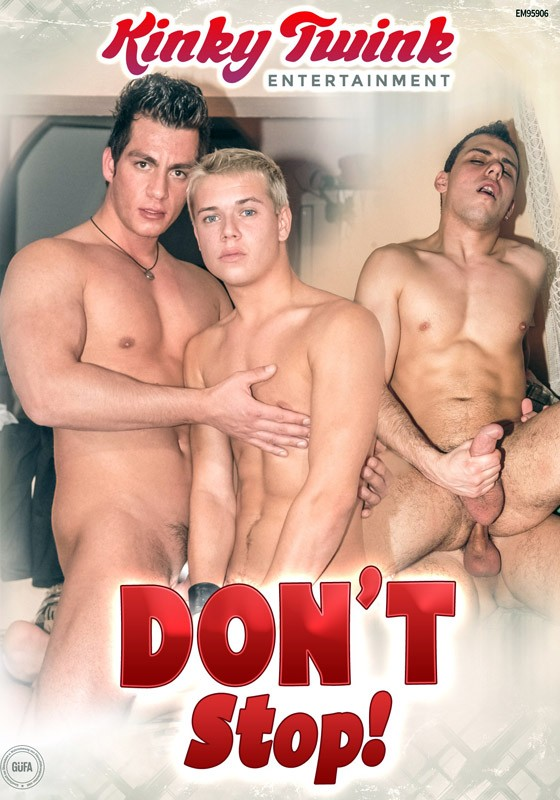 Don't Stop! DVD - Front