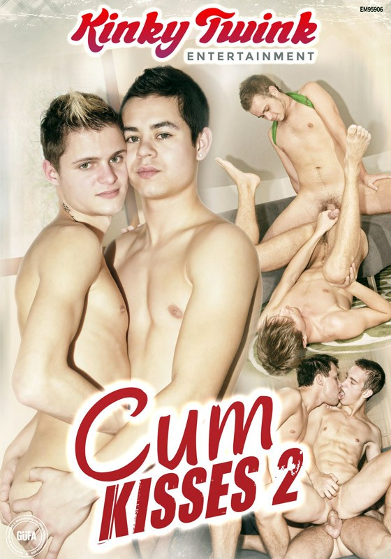 Cum Kisses 2 (Kinky Twink) DVD - Front