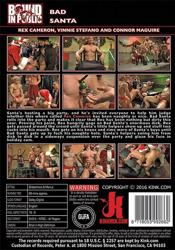 Bound in Public 113 DVD (S) - Back