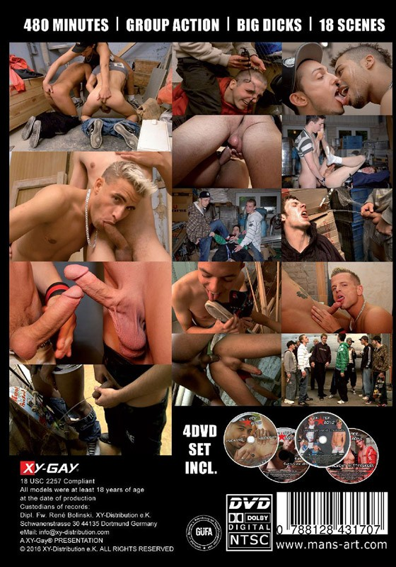 Skater Boys Box Set DVD - Back