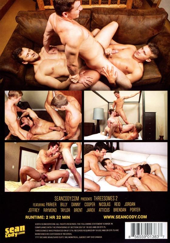 Threesomes 2 DVD - Back