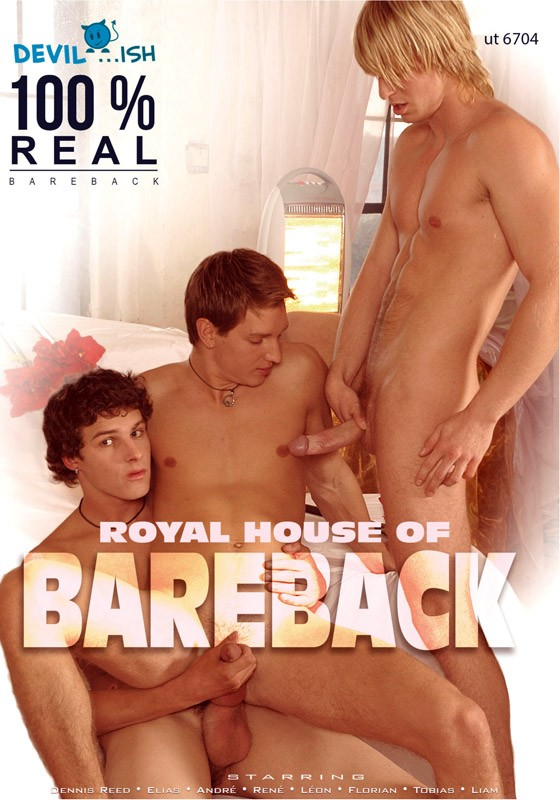 Royal House of Bareback DVD - Front