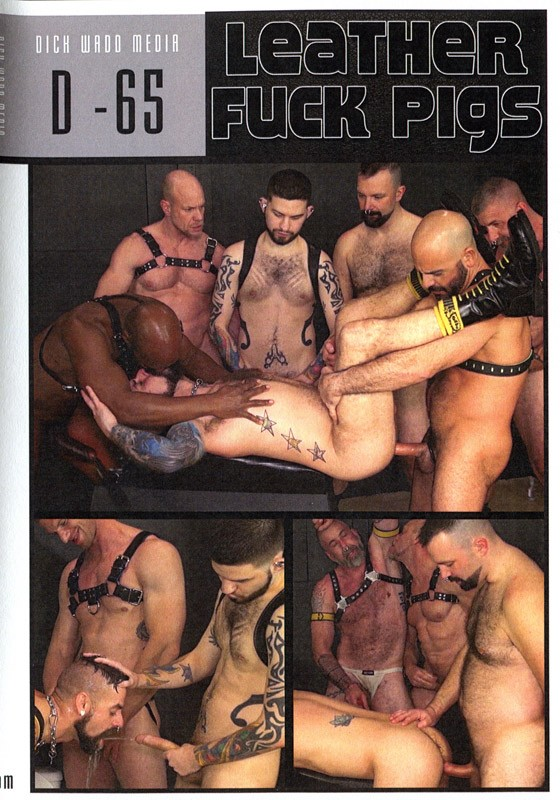 Leather Fuck Pigs DVD - Front