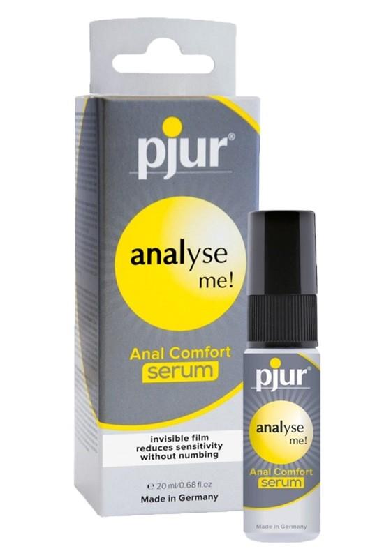Pjur analyse me! Anal Comfort serum pump Bottle 20 ml - Front
