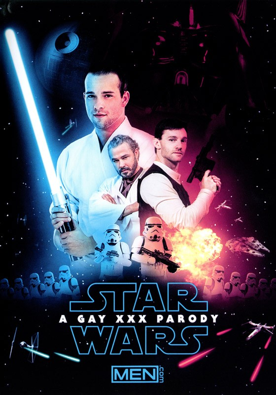 Star Wars - A Gay XXX Parody DVD - Front