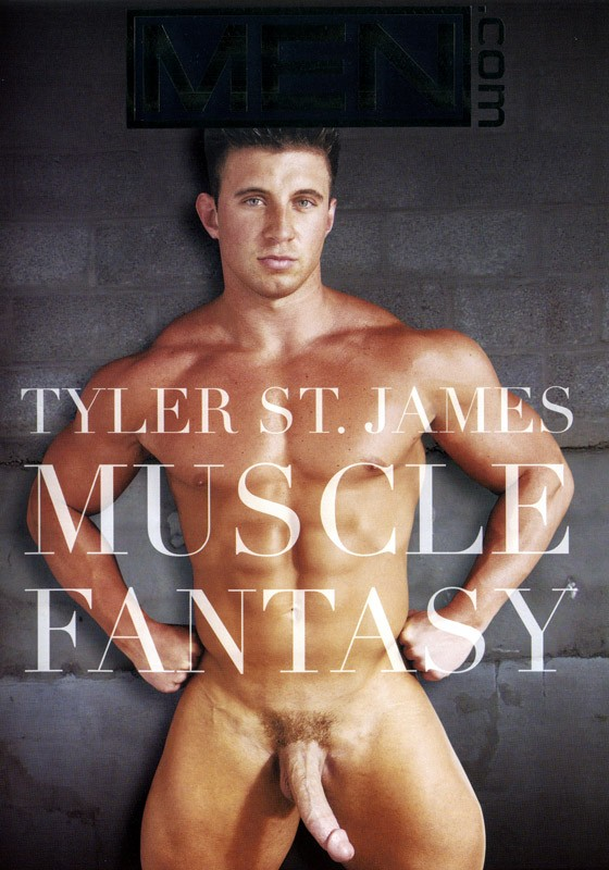 Tyler St.James: Muscle Fantasy DVD - Front
