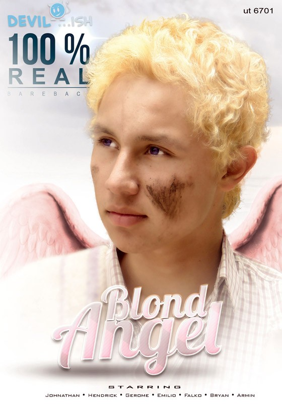 Blond Angel DVD - Front