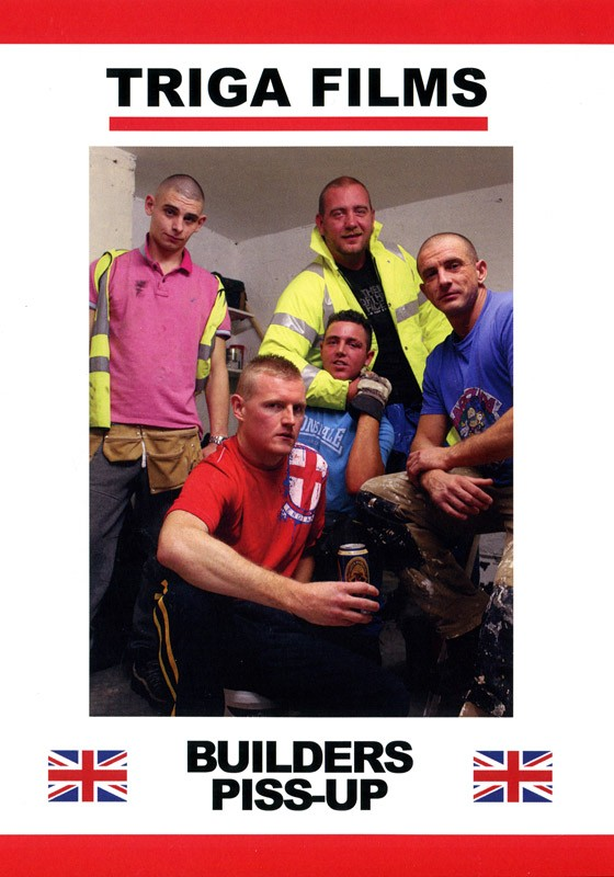 Builders Piss-Up DVD - Front