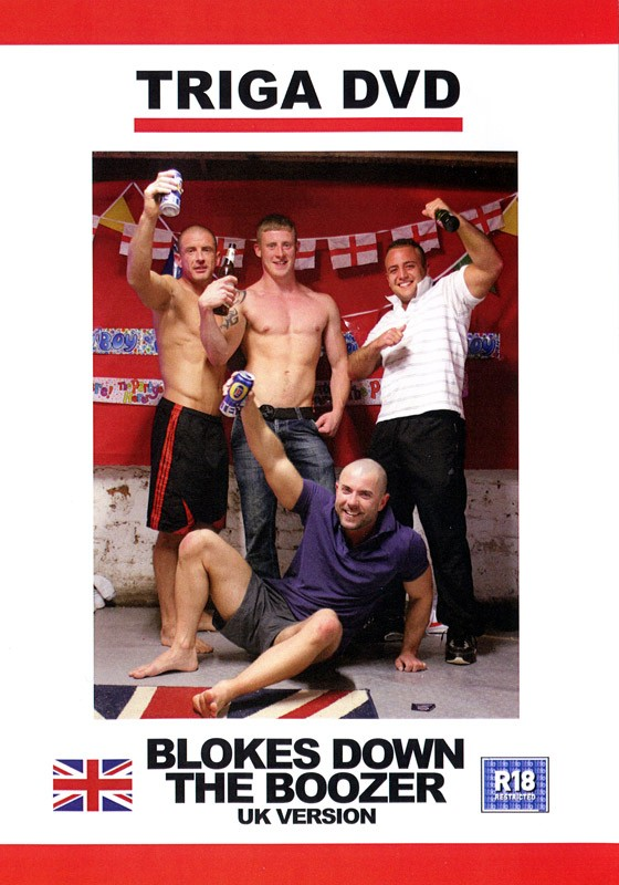 Blokes Down The Boozer (UK Version) DVD - Front