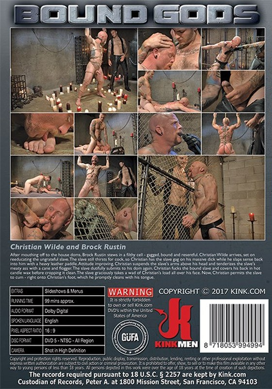 Bound Gods 74 DVD - Back