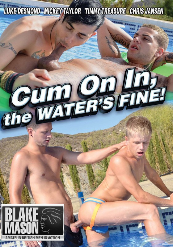 Cum On In, The Water's Fine! DVD - Front