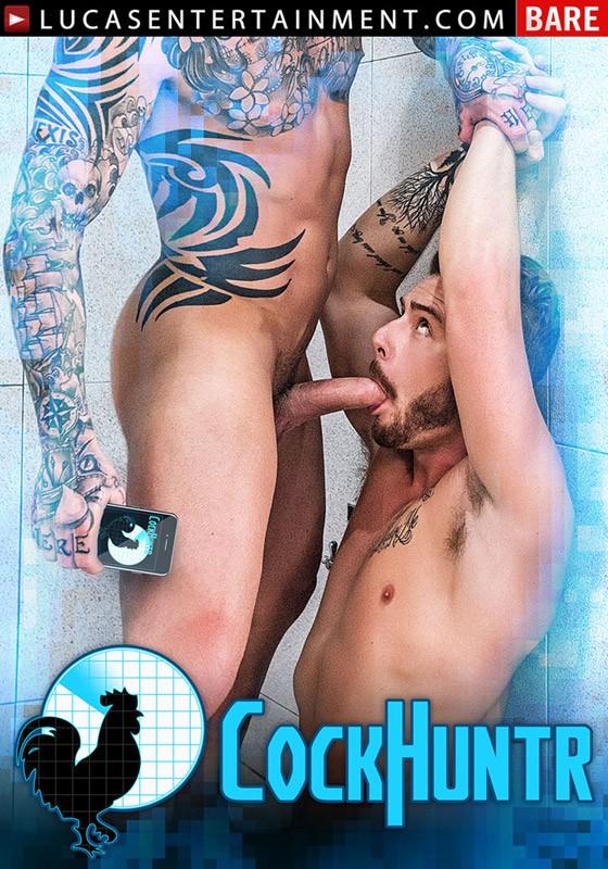 CockHuntr DVD - Front