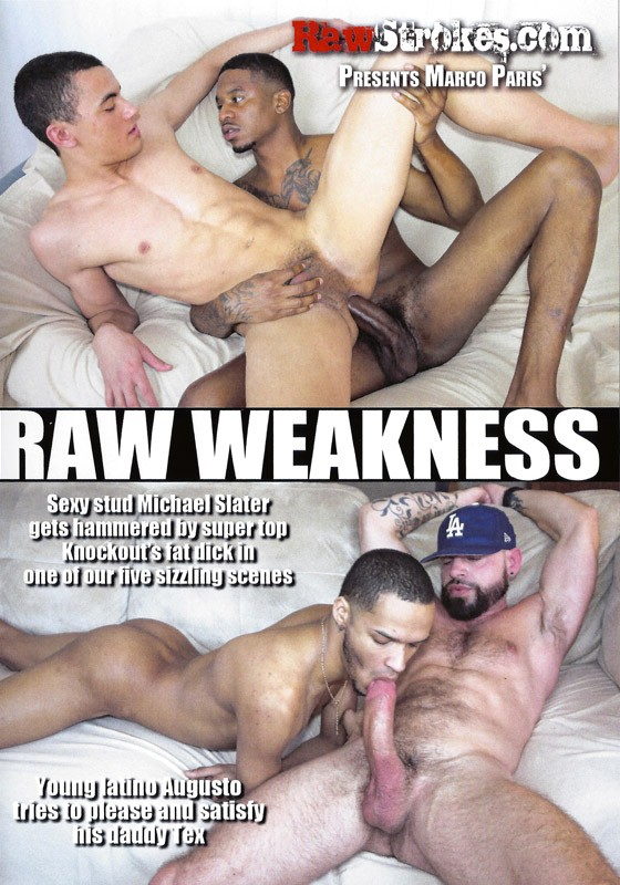 Raw Weakness DVD - Front