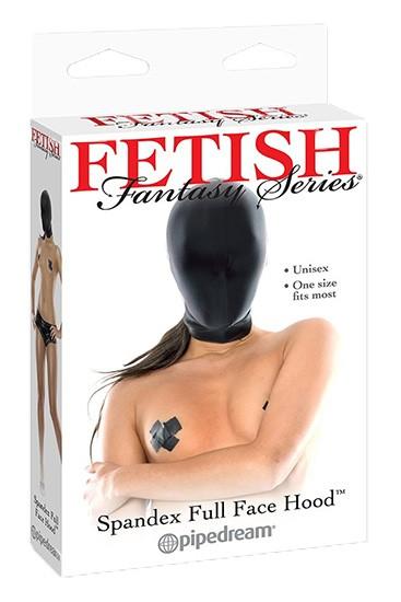 FF Spandex Full Face Hood - Black - Gallery - 001