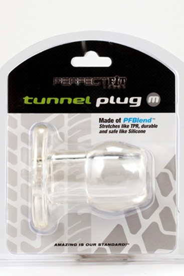 Perfect Fit Ass Tunnel Plug Silicone TPR Medium - Gallery - 004