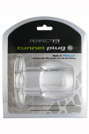 Perfect Fit Ass Tunnel Plug Silicone TPR Extra Large - Gallery - 004