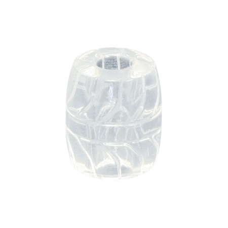 Fat Boy Silicone TPR Ball Stretcher 50 mm. - Ice Clear - Gallery - 002