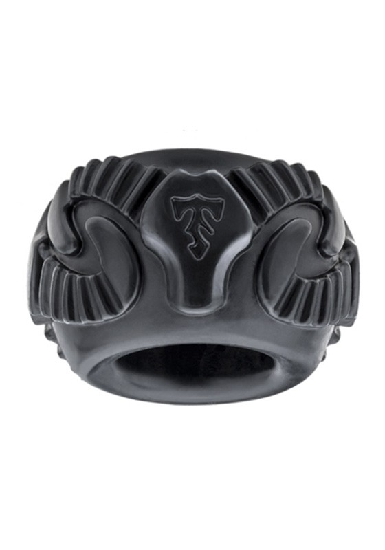 Tribal Son Ram Ring - Black - Boxed Double Kit - Front
