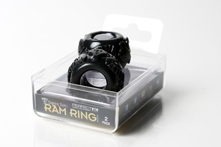 Tribal Son Ram Ring - Black - Boxed Double Kit - Gallery - 001