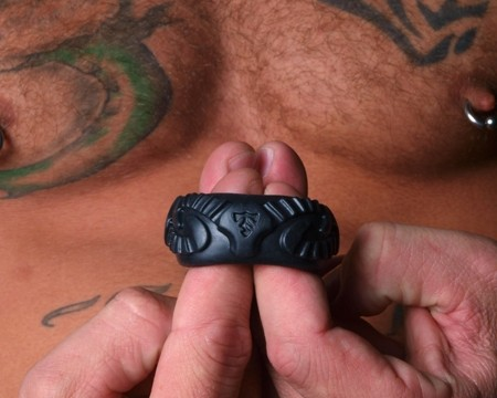 Tribal Son Ram Ring - Black - Boxed Double Kit - Gallery - 005