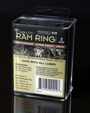 Tribal Son Ram Ring - Black - Boxed Double Kit - Gallery - 007