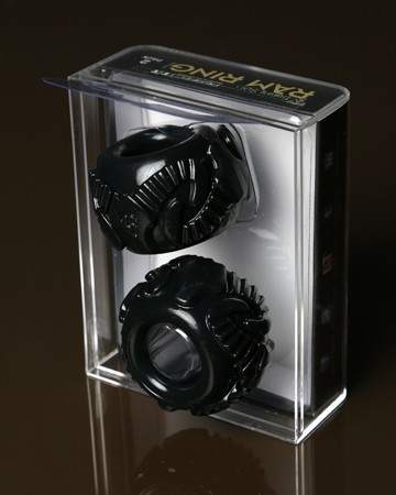 Tribal Son Ram Ring - Black - Boxed Double Kit - Gallery - 008