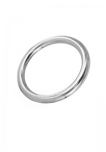 Stainless Steel Round Cock Ring 8 mm.