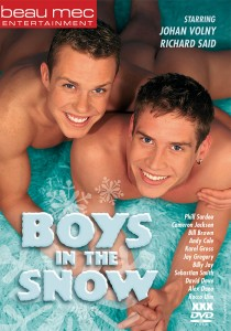 Boys in the Snow DVD - Front