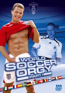 World Soccer Orgy part 1 DVD - Front