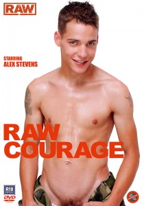 Raw Courage DVD - Front