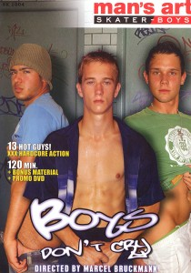 Boys Don't Cry DVD - Front