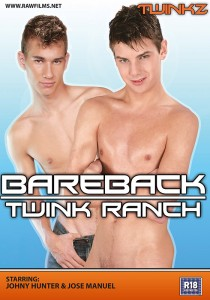 Bareback Twink Ranch DVD (NC)