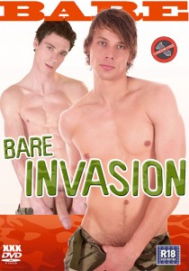 Bare Invasion DVD - Front