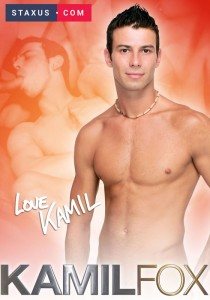 Staxus Model Collection 03: Kamil Fox DVD - Front