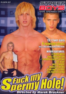 Fuck my Spermy Hole DVD (S)