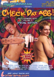 Check Dat Ass! DVD - Front
