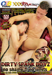 Dirty Spank Boyz DVD - Front