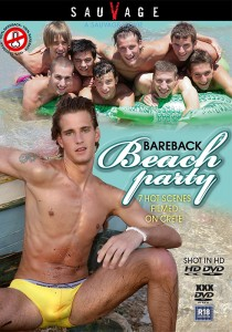 Bareback Beach Party (SauVage) DVD - Front