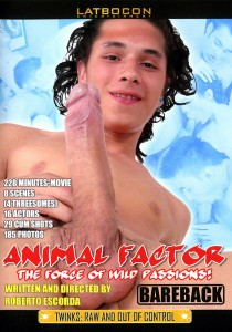 Animal Factor DVD - Front