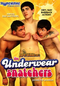 The Underwear Snatchers DVD - Front
