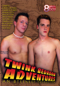 Twink Bedroom Adventures DVD (S)